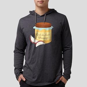 Rosh Hashana Blessings Mens Hooded Shirt