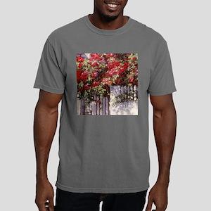 Box-fl-red-roses Mens Comfort Colors Shirt