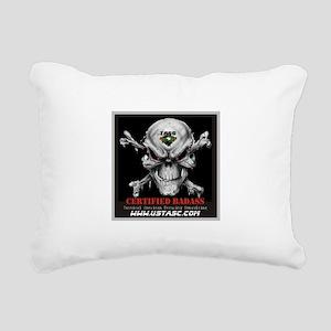 Certified Badass Rectangular Canvas Pillow