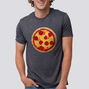 Original Pizza Illustration Mens Tri-blend T-Shirt