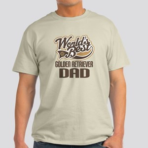 Golden Retriever Dad Light T-Shirt