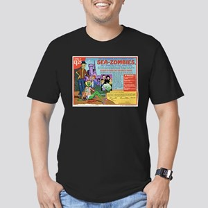 Sea -Zombies Men's Fitted T-Shirt (dark)
