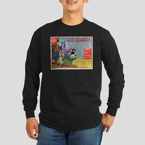 Sea -Zombies Long Sleeve Dark T-Shirt