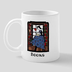 Books - Retro Librarian Readi Mug