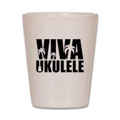 Viva Ukulele Shot Glass