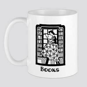 Books - Retro Librarian Readi Mug