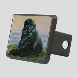 Newfoundland Dog Rectangular Hitch Cover