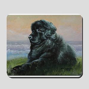 Newfoundland Dog Mousepad