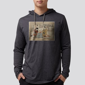 Kyoto - Masanobu Okumura - 1734 Mens Hooded Shirt