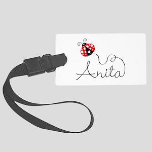 Ladybug Anita Large Luggage Tag