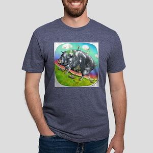 2-Antoine Mens Tri-blend T-Shirt