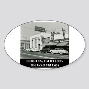 Compton Good Old Days Sticker (Oval)