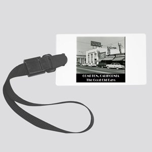 Compton Good Old Days Large Luggage Tag