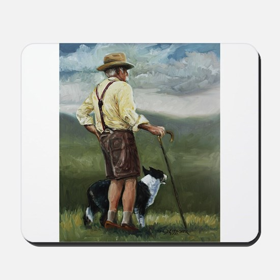 Sheep Herder Mousepad