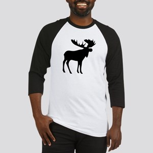 Black Moose Baseball Jersey