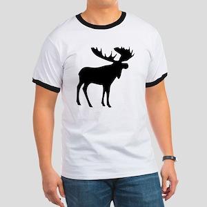 Black Moose Ringer T