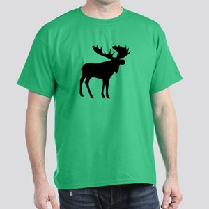 Black Moose Dark T-Shirt