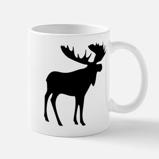 Black Moose Mug