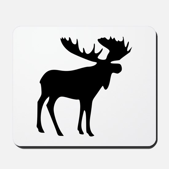 Black Moose Mousepad