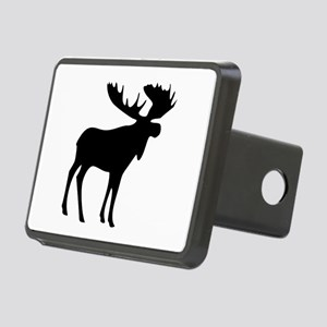 Black Moose Rectangular Hitch Cover