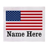 Flag Fleece Blankets