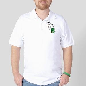 Snappy Cow Parody Golf Shirt