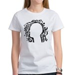 Black and white tribal head Women's T-Shirt