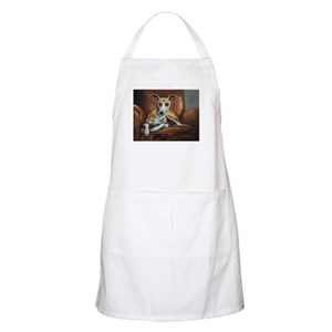 Whippet on Chair Apron