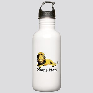 Personalized Lion Stainless Water Bottle 1.0L
