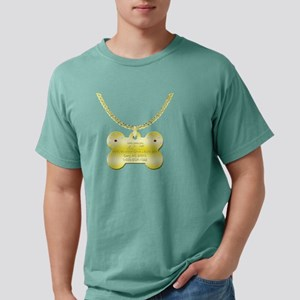 3-poodletag Mens Comfort Colors Shirt