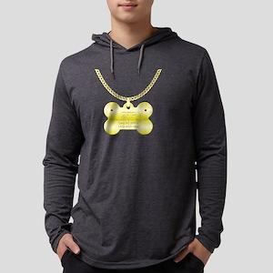 3-poodletag Mens Hooded Shirt