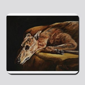 Greyhound Resting Mousepad