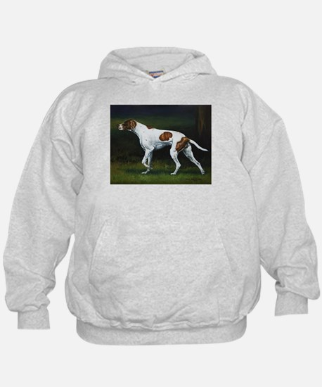 English Pointerin the Woods Hoodie