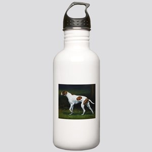 English Pointerin the Woods Stainless Water Bottle