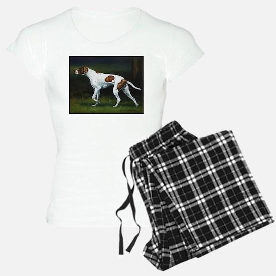 English Pointerin the Woods Pajamas