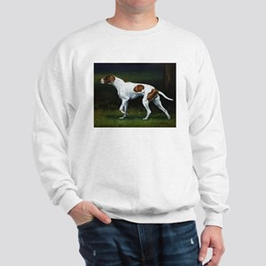 English Pointerin the Woods Sweatshirt