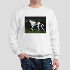 English Pointerin the Woods Sweatshirt
