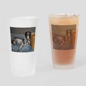 Borzoi Drinking Glass