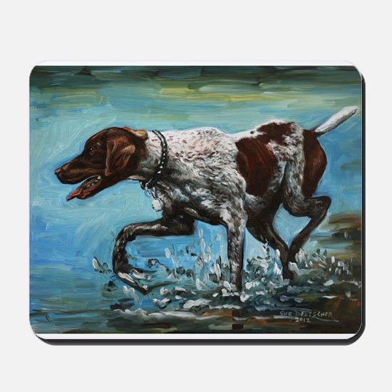 German Shorthaired Pointer Mousepad