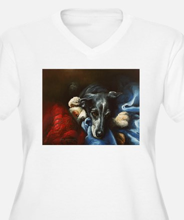 Whippet and Toy T-Shirt