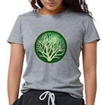treecircle_green.png Womens Tri-blend T-Shirt