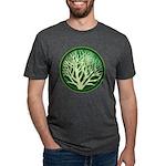 treecircle_green.png Mens Tri-blend T-Shirt