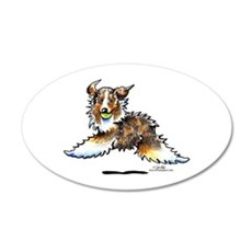 Aussie Lets Play Wall Decal
