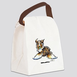 Aussie Lets Play Canvas Lunch Bag