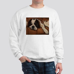 Saint Bernard Sleeping Sweatshirt