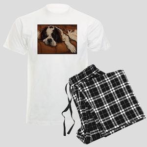 Saint Bernard Sleeping Men's Light Pajamas