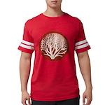 treecircle_red.png Mens Football Shirt