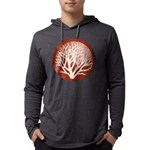 treecircle_red.png Mens Hooded Shirt