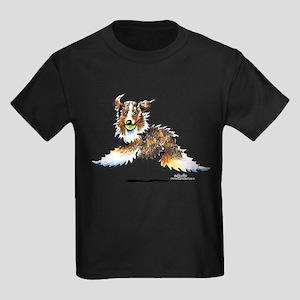 Aussie Lets Play Kids Dark T-Shirt