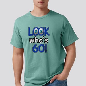 60th year birthday desig Mens Comfort Colors Shirt